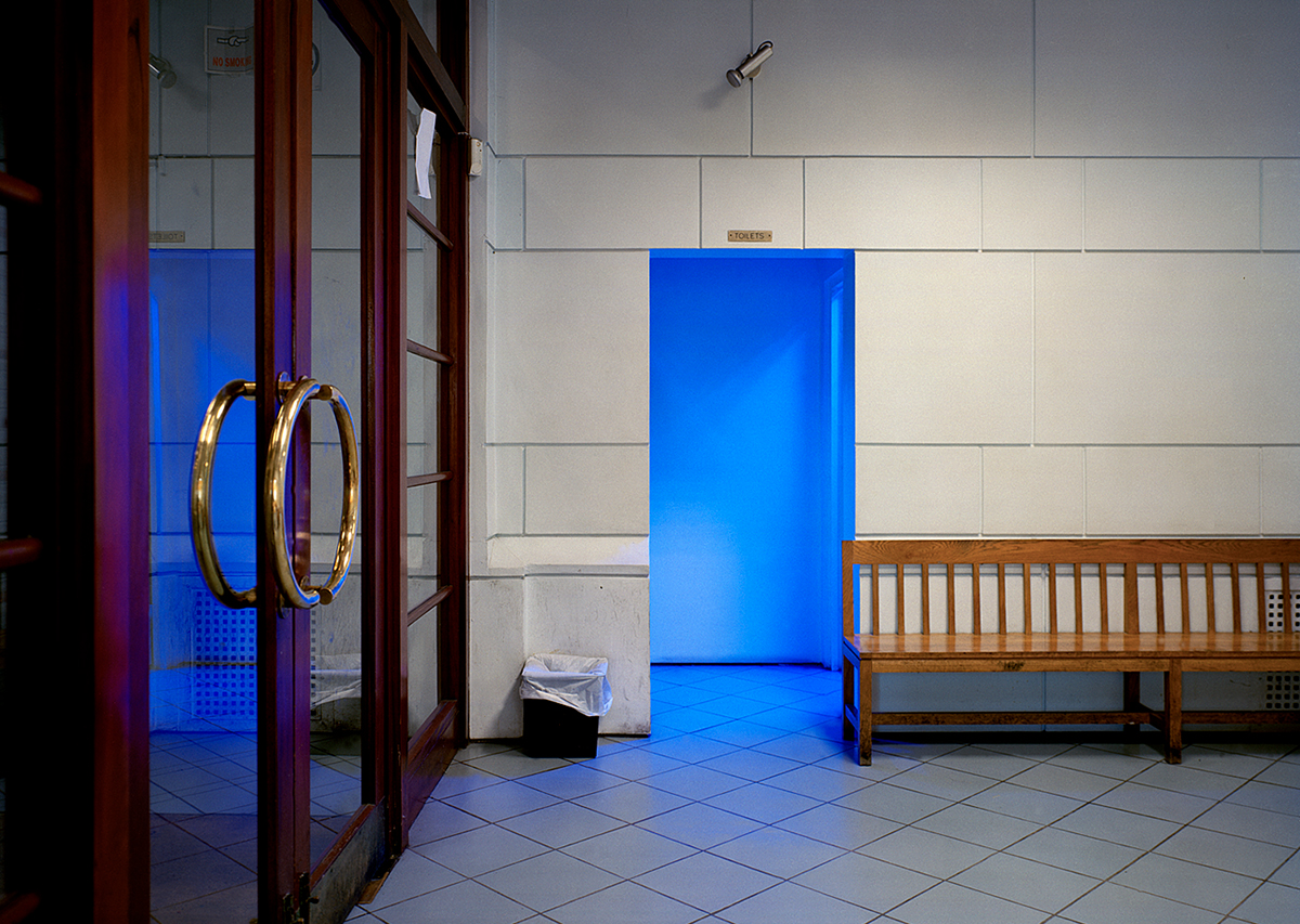 David Blackmore: Reception area, The Metropolitan Children's Court, Dublin, Eire from Detox, 2004