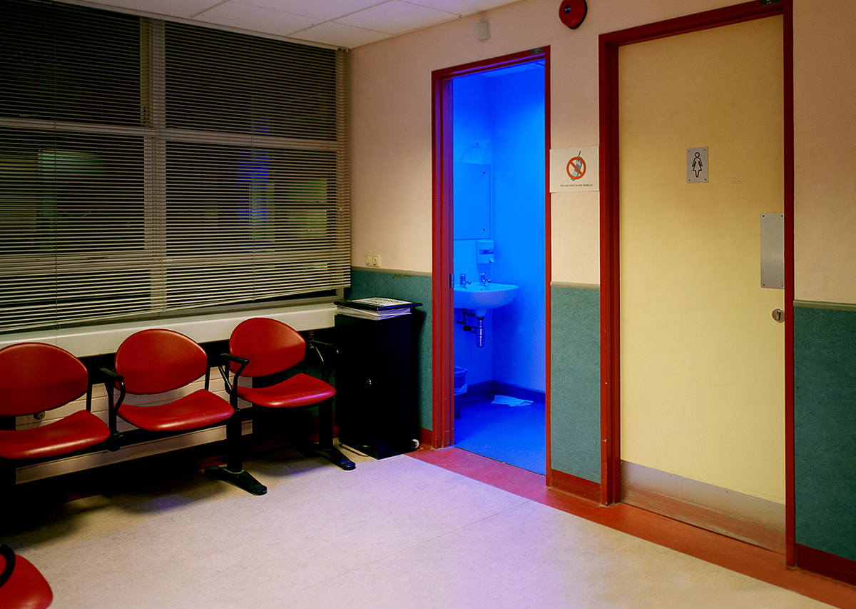 David Blackmore: A & E, X-ray Department, The Adelaide & Meath hospital, Dublin, Eire from Detox, 2005