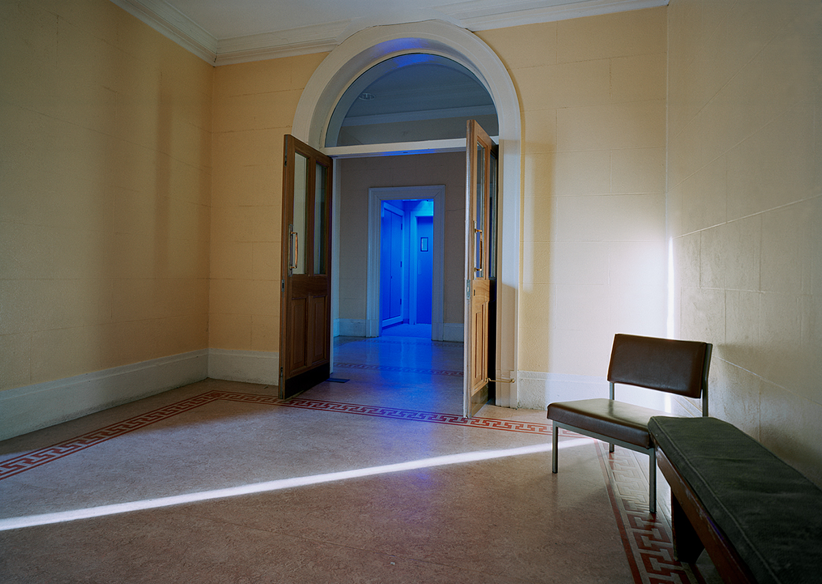 David Blackmore: Corridor leading form court 16, The Four Courts, Dublin, Eire from Detox, 2004