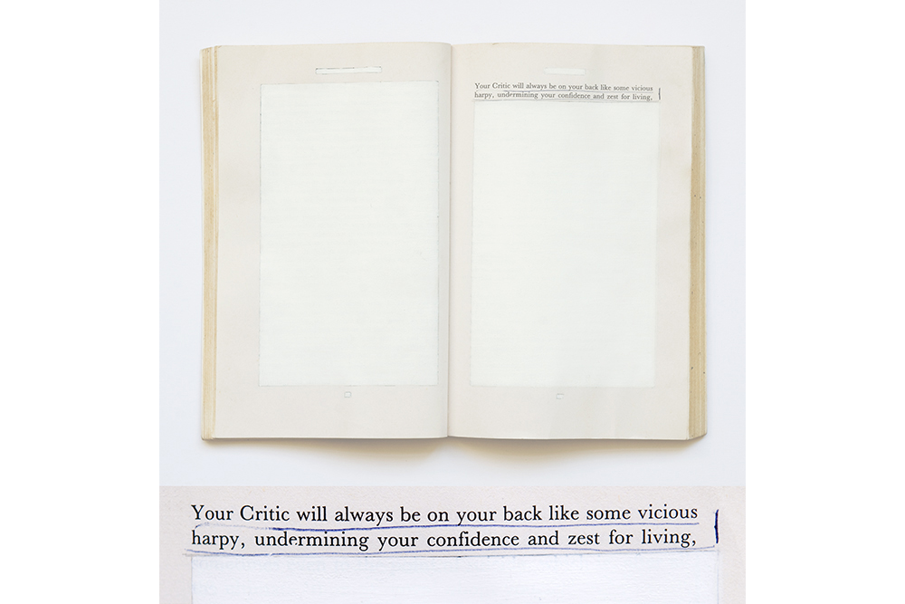David Blackmore: BE YOUR OWN BEST FRIEND  from Self Help, 2010
