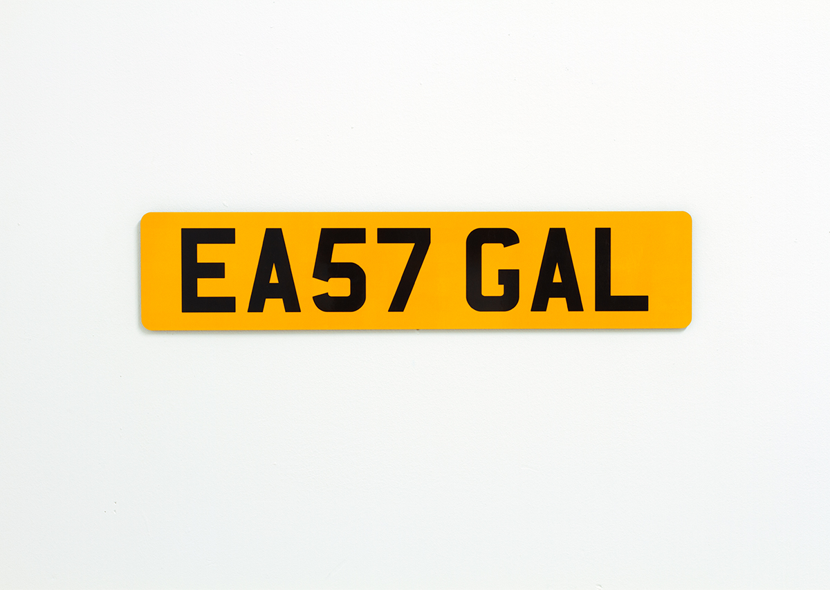 David Blackmore: EA57 GAL from REG, 2013
