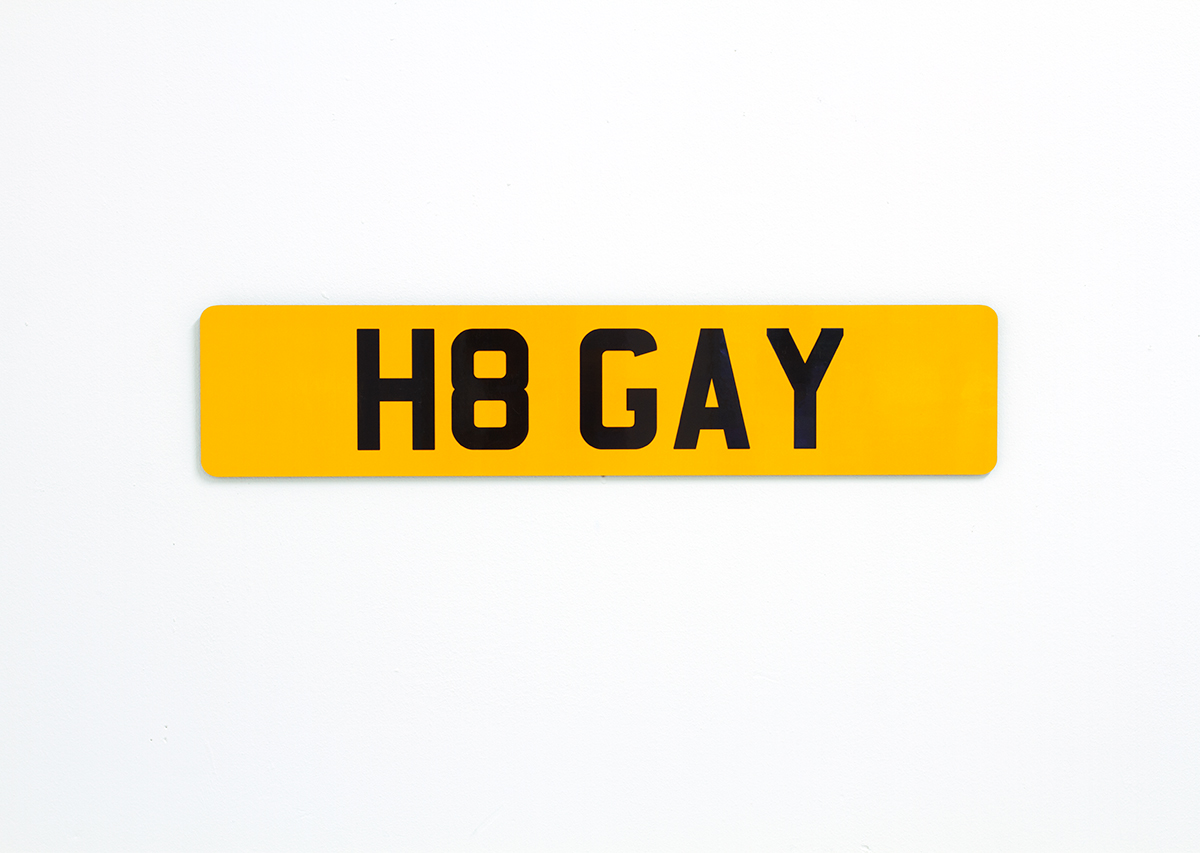 David Blackmore: H8 GAY from REG, 2013